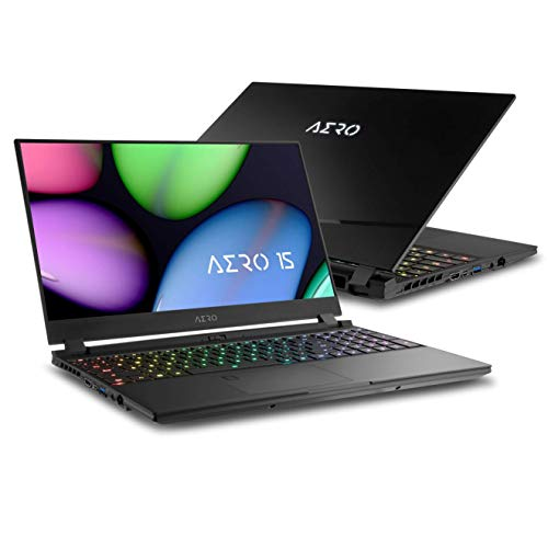 Gigabyte AERO 15 Laptop, Intel Core i7 10875, Nvidia GeForce RTX 2070 SUPER Max-Q, 15 Zoll 144Hz IPS Display (AERO 15 XB-8DE1130SH)