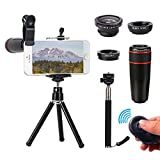 Best Smartphone Camera Lenses - Universal Phone Camera Lens, 10 in 1 Cell Review