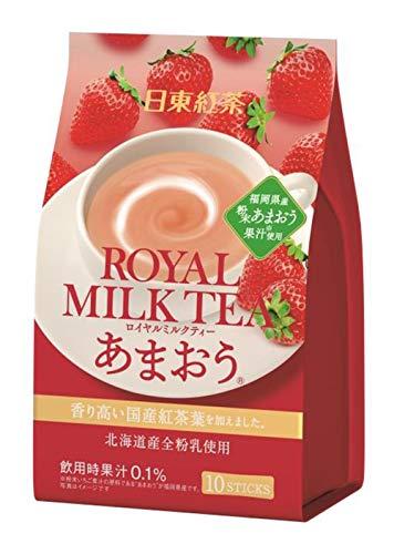 日東紅茶 ロイヤルミルクティーあまおう 10本入 ×6袋 粉末