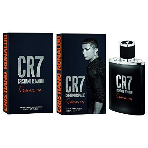 Cristiano Ronaldo CR7 Game On Eau de Toilette, Schwarz, Orange, 30ml