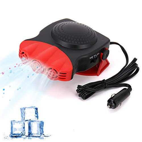 Best Deals! Portable Car Heater, 2 in 1 Electric Car Heater with Cooling & Heating Function Defroste...