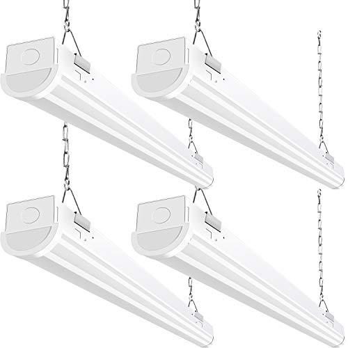 Hykolity 4FT LED Shop Light 5200 lumens - 4 pack