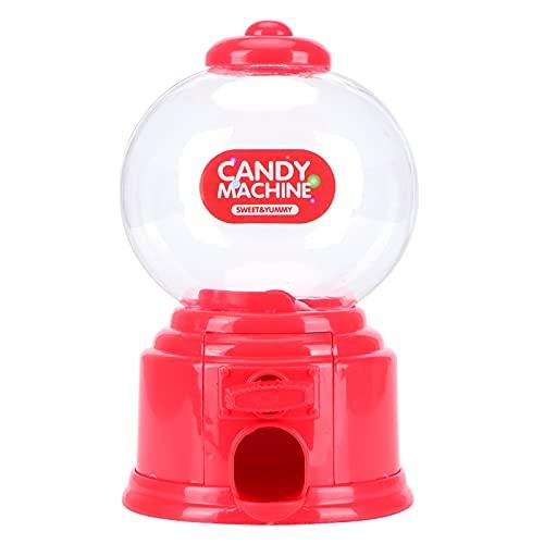 Haowecib Máquina de Almacenamiento de Caramelos, plástico de Banco de Dinero para Caja de bocadillos de Chocolate para Caja de Regalo(Red)