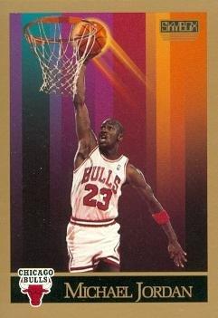 Michael Jordan Basketball Card (Chicago Bulls) 1990 Skybox #41