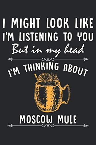 Moscow Mule: Moskauer Maultiertrinker Wodka Bier Liebhaber Notizbuch DIN A5 120 Seiten für Notizen, Zeichnungen, Formeln | Organizer Schreibheft Planer Tagebuch
