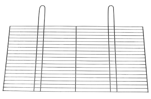 Grille de cuisson, grill, grille, ersatzgrill, ersatzrost, bLACK kNIGHT bARBECUES grille de gril ronde kaminrost traditionnel de 80 cm x 40 cm