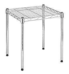 top 10 locker storage shelf Whitmor Supreme Shelf  Organizer – Adjustable – Chrome