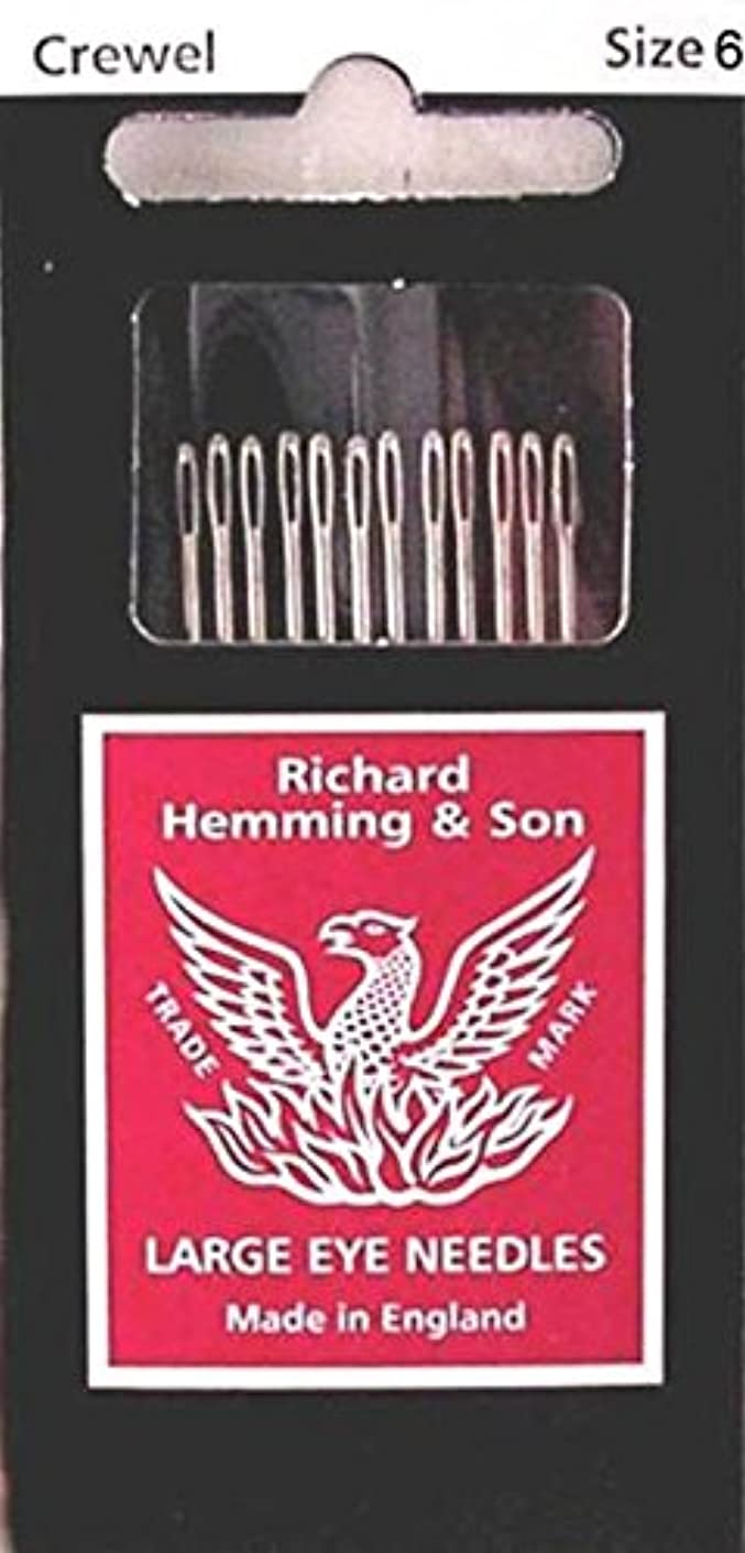 Colonial Needle Richard Hemming Embroidery/Crewel Needle, Size 6