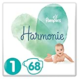 Couches Pampers Taille 1 (2-5 kg) - Harmonie, 68 couches