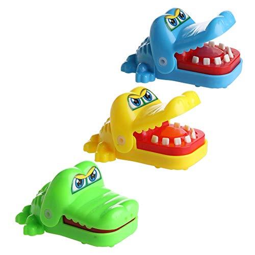 KOFUN lustiges Spielzeug für Kinder, niedliches Biss-Hand, Krokodil-Spielzeug, zufällige Lieferung