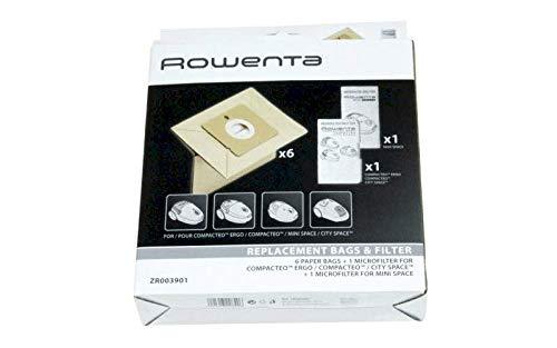 Rowenta ZR003901 – Bolsa de 6 filtros x 2 filtros...