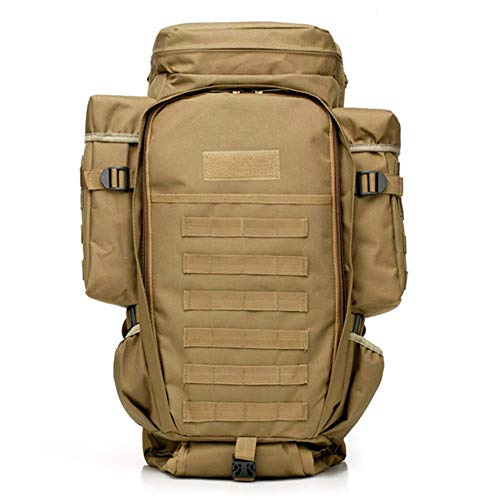 MLSice Mochila táctica Mochila Molle Militar, Mochila Militar Rifle Gun Storage Holder Bug out Bag Molle Pack 60L Gran Capacidad Impermeable