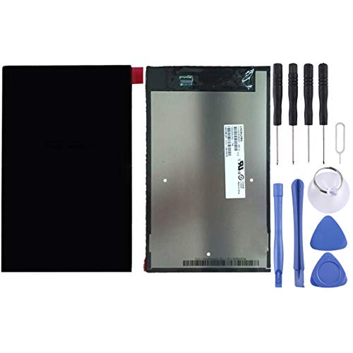 Zhangli Mobile Phone LCD Screen LCD Screen and Digitizer Full Assembly for Lenovo A8-50 / A5500(Black) LCD Screen (Color : Black)