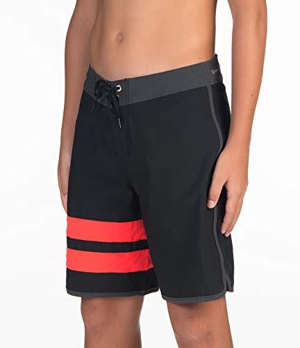 Hurley Boys B Phtm Block Party Board Shorts, Black, 25