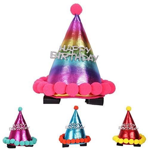 NETPROSHOP trensieraad verjaardag, hoed voor de scheiding of het holster van je paard, multicolor