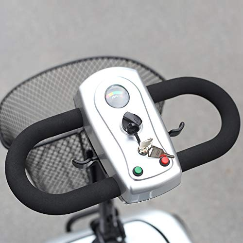 wyingj Four Wheel Electric Scooter for The Elderly