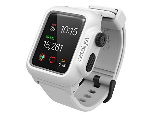 Catalyst Custodia Impermeabile per Apple Watch Serie 2 da 38mm Colore Bianco