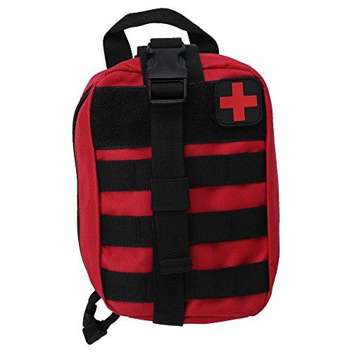 Bolsa de Primeros Auxilios de Supervivencia al Aire Libre Bolsa de Emergencia de Escalada ( Color : Rojo )