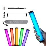 NANLITE PavoTubeII 6C LED RGBライトチューブポータブルハンドヘルド写真照明スティックCCTモードの写真ビデオソフトライト