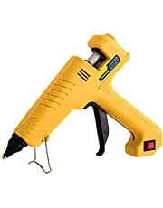 Varm smältlimpistol, uppvärmd smältlimpistolpaket, med limpinne, som används för skola DIY Crafts-projekt, Hem / Kontor Snabbreparation-150W_20 limpinne