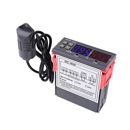 Controlador de temperatura, control de temperatura de hervidor adecuado 0~60 ° C ABS y componentes electrónicos Hechos 75 x 34.5 x 85mm