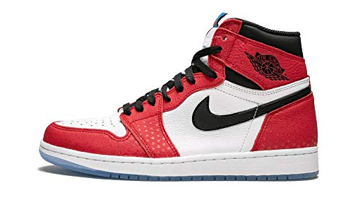 Nike Herren Air Jordan 1 Retro High Og Fitnessschuhe, Mehrfarbig (Gym Red/Black/White/Photo Blue 602), 46 EU