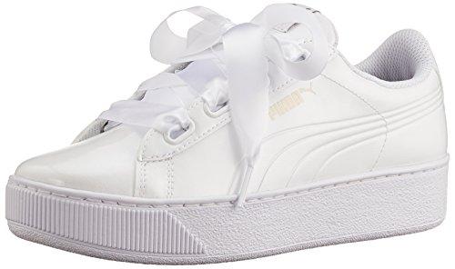 Puma Vikky Platform Ribbon P, Sneaker Basse Donna, Bianco White, 37 EU