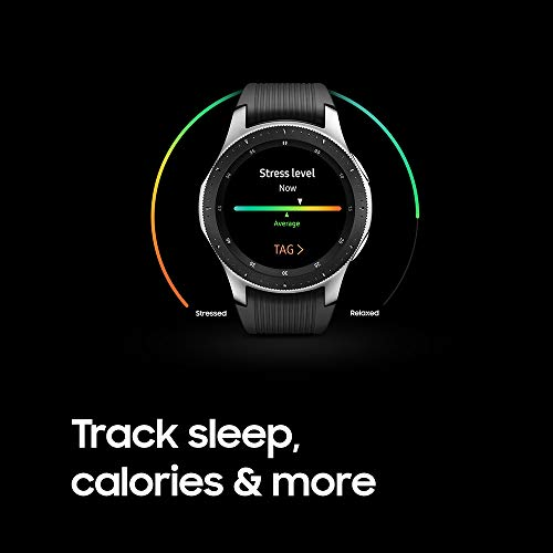 Samsung Galaxy Watch (46mm, GPS, Bluetooth) – Silver/Black (US Version)