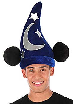 Disney Mickey Mouse Sorcerer Wizard Costume Hat
