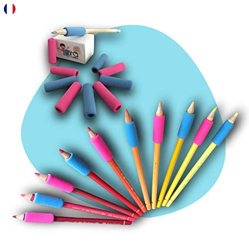 NEV-G Ergonomische Fingerführung für Bleistifte oder Stift, Stift-Werkzeug zum...