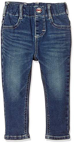 [エドウィン] ジーンズ [どんな服にもあう]キッズ レギュラーストレートパンツ(ストレッチ) 【80~130cm】ETB03 ダークブルー 80