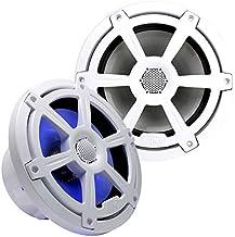 "$289 » Audio Legion MR6C 6.5"" 400 Watt Marine Coaxial Speakers with Integrated LED Lighting - (Pair)"
