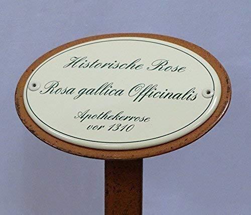 linoows Rosenschild Emaille Historische...