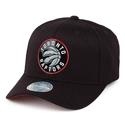 Mitchell & Ness Toronto Raptors Snapback Cap - Chrome Logo - Zwart