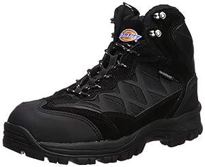 Dickies Men's Frontierthike Steel Toe Waterproof EH Industrial Boot, Black, 9 Medium US