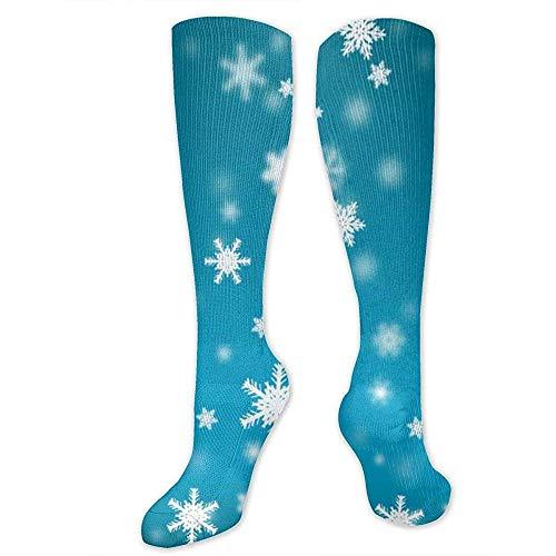 WlyFK Calcetines de compresión para hombres y mujeres, 15-20 mm, para correr con cierre