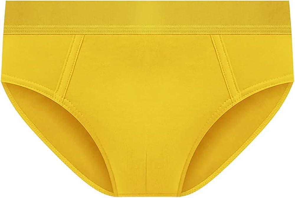 Men's Briefs 3-Pack Pure Cotton Breathable Four Seasons Men's Trendy Sexy Shorts