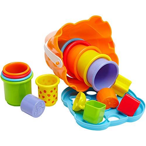 Globo Toys 12 809,2 cm Vitamina _ G Tour/moules et Seau Girafe Centre d'activités