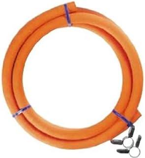 ダンロップ LPガス用ゴム管(内径9.5mm) ホースバンド付き 0.5m 6002
