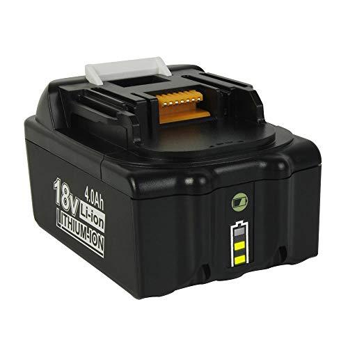 Batería de repuesto BL1850 de ion de litio de 4 Ah para Makita 18 V BL1850 BL1850B BL1860B BL1860 BL1830 BL1840 BL1845 BL1815 BL1820 BL1835 194205-3 194204-5 LXT-400 con indicador