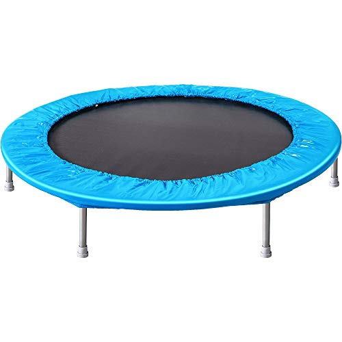 DA MI The fitness trampoline with safety pad isstableandquiet,andthespring-spring pad with protective ringcombinationsurroundsthebed.Exquisite gift37in