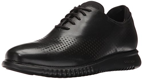Cole Haan mens 2.0 Zerogrand Laser Wing Oxford, Black Leather/Black, 9.5 US