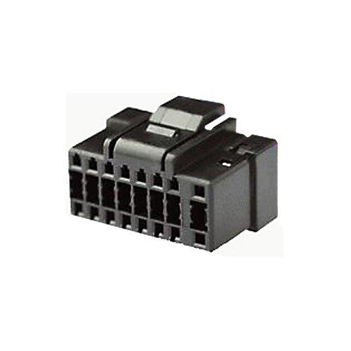 Autokit Alp61-80-Connettore per Autoradio ISO, 16-Pin, Colore: Nero