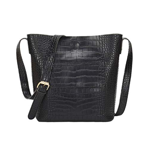 Darringls Borse a Spalla Donna Borsa a Tracolla Crossbody 2019 Nuovo Zaino antifurto Elegante Alligator Pattern Bag Messenger Crossbody Shoulder Bag