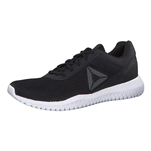 Reebok Herren Flexagon Energy Tr Multisport Indoor Schuhe, Mehrfarbig (Black/True Grey/White 000), 45 EU