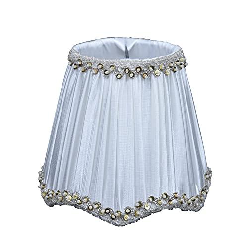 SAC d'épaule Pantalla, lámpara de Pared de la lámpara de la lámpara de la canalla de Cristal, la lámpara de Tela Hecha a Mano de la Ola, Blanco