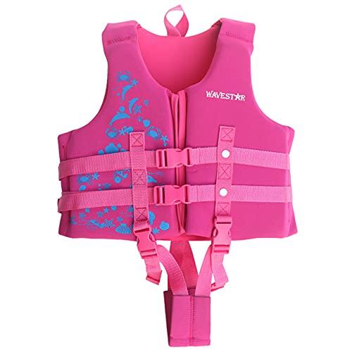 BIN Chaleco de Entrenamiento de natación Niños niñas flotación Traje de baño Traje de baño de flotabilidad para niños Que aprenden a Nadar