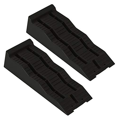 Thule 307617 Caravan Ramps Motorhome Level Wheel, Black, Set of 2