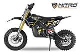 Dirtbike Eco Tiger - Bici de bolsillo eléctrica para niños (1000 W, 36 V)