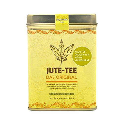 Jute-Tee Zitronenverbene   Mit beruhigender Verbena (Zitronenstrauch)   Duftendes Eisenkraut